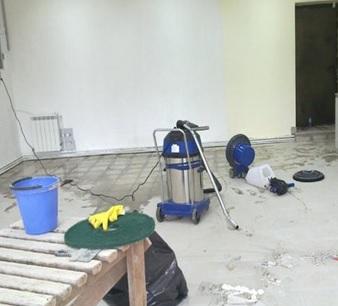 Уборка после ремонта.